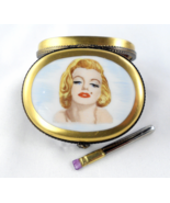 Limoges Box - Marilyn Monroe Portrait Makeup Co... - $149.00