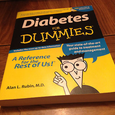 Primary image for Diabetes for Dummies by Alan L. Rubin (2001, Paperback) (283)
