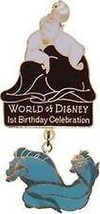 Ursula Flotsam Jetsam Authentic Disney Little Mermaid Villains Pin - $24.18