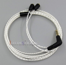 00 Lightweight  Silver Plated 4N OCC Cable For Pioneer DJE 1500 2000 Headphone - $22.99