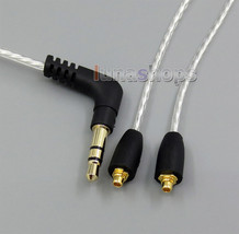 00 Lightweight  Silver Plated 4 N Occ Cable For Jvc Ha Fx850 Ha Fx1200 Ha Fx1100 - $22.97