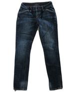 A X Armani Exchange Women's Skinny Denim Jeans Dark Wash Zip Ankle Sz P0... - $14.85