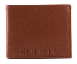 Tommy Hilfiger Men's Leather RFID Fixed Passcase Wallet Billfold 31TL220084 image 5