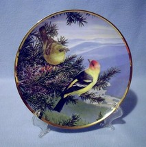 Hamilton Western Tanager Collector Plate Favorite American Songbirds 1985 - $19.99
