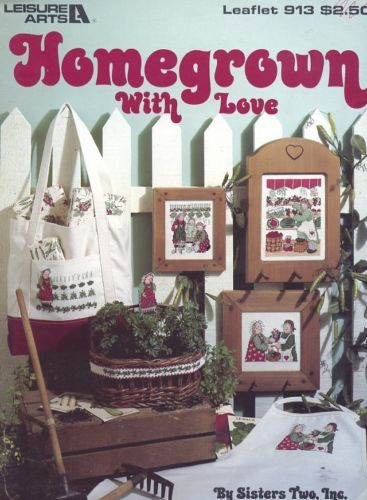 Primary image for Homegrown With Love LA 913 Garden Gardeners Cross Stitch Pattern Leaflet