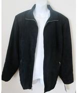 Evan Picone Woman Size 24W Faux Suede Jacket Na... - $40.00