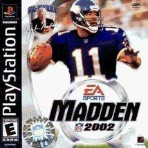 Madden NFL 2002 [PlayStation] - $5.99