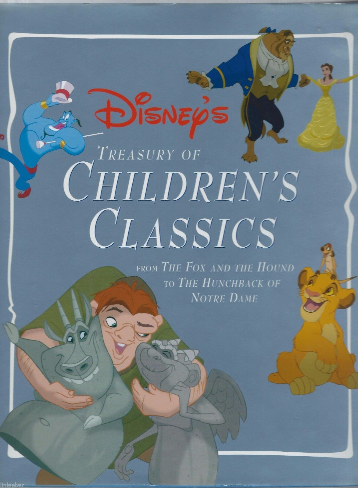 Primary image for Disney's Treasury of Children's Classics by Gina Ingoglia 1996 HCDJ 1st Ed.