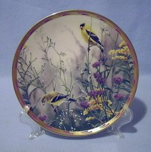 Lenox Golden Splendor Gold Finches Collector Plate 1992 Nature's Collage - $24.99