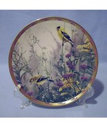 Lenox Golden Splendor Gold Finches Collector Plate 1992 Nature's Collage - $19.99