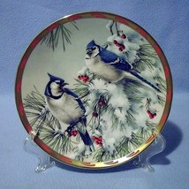 Lenox Winter Song Blue Jays Collector Plate 1993 Nature's Collage - $24.99