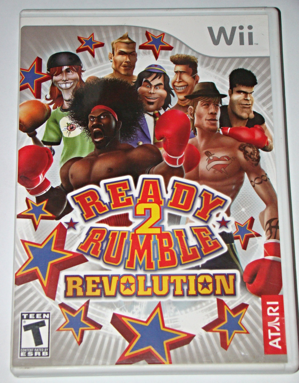 Primary image for Nintendo Wii - READY 2 RUMBLE REVOLUTION (Complete with Manual)