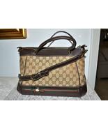 New $1470 Authentic GUCCI Monogram Handbag Cros... - $949.66