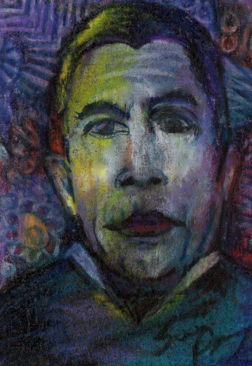 Primary image for original ACEO drawing Halloween vintage horror movie Dracula vampire Bela Lugosi