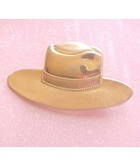 Western Cowboy Hat Pin large 3 inch wide - $8.00