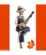 Dixie Land Musical Animated Lighted Halloween Skeleton Figure - $66.28