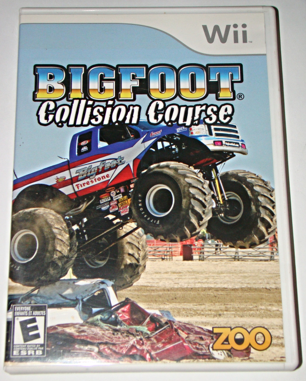 Primary image for Nintendo Wii - BIGFOOT Collision Course (Complete with Manual)