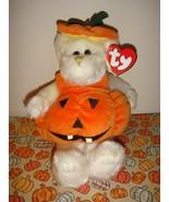 Ty Attic Treasures Carver Pumpkin - $7.79