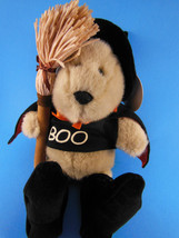 Starbucks Bearista Boo Witch Bear Bean Bag Plush Yr 2000 Halloween 11 Th Ed. Mwt - $14.84