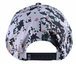 Hall Of Fame Chunk Heavy Embroidery Digi Camo Snapback Baseball Hat Cap NWT image 4