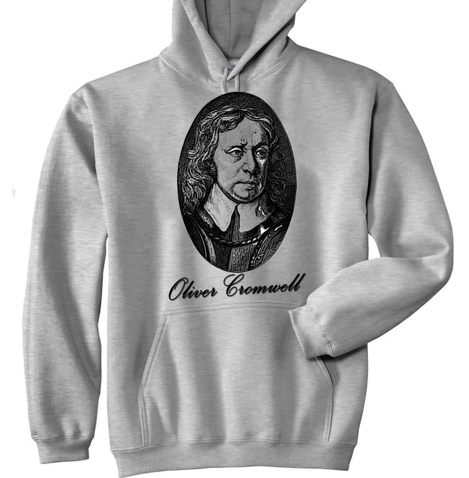 Primary image for OLIVER CROMWELL - NEW COTTON GREY HOODIE - ALL SIZES IN STOCK