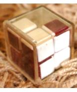 Vintage Rubik's Cube Soviet 3D Puzzle Magic Cube Logic USSR Brain Game T... - $15.00