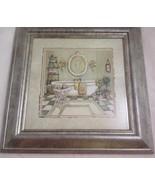 C. Winterle Olson, Bathroom Art, Framed/Matted, Vintage Bathroom, Signed - $59.99