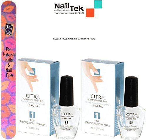 Primary image for Nail Tek Citra 1 Formaldehyde Free for Strong Healthy Nails (.47FL OZ/14ML.) ...