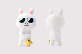 "LINE Friends Character SunGlasses CONY 14""(35cm) Stuffed Plush Doll Cudd... - €52,66 EUR"