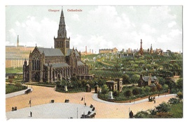 UK Scotland Glasgow Cathedral and Necropolis Vintage Postcard F Bauermei... - $6.69