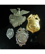 Vintage Police Badge Lot Badge Pennsylvania Hanover township Lake George... - $225.00