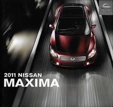 2011 Nissan MAXIMA sales brochure catalog US 11 3.5 S SV 4DSC - $8.00