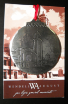 Wendell August Christmas Ornament 2012 Jim Ptacek Cleveland West Side Ma... - $11.99