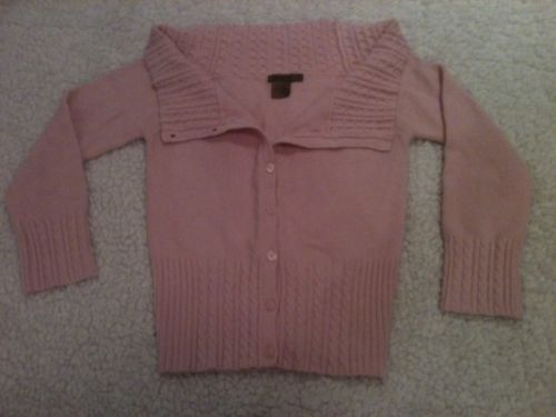 Primary image for EUC Gorgeous! ARDEN B. Light PINK Button Sweater Blouse Shirt Top XS