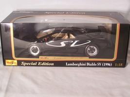 Lamborghini Diablo SV 1:18 scale diecast Maisto Special Edition - $42.37