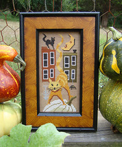 Tomcat Alley cross stitch chart Carriage House Samplings - $9.00