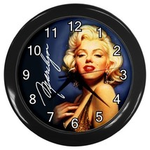 Marilyn Monroe Decorative Wall Clock (Black) Gift model 35699717 - $18.18