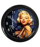 Marilyn Monroe Decorative Wall Clock (Black) Gift model 35699717 - $18.18