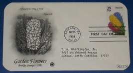 First Day Cover- Garden Flowers Hyacinth - $8.00