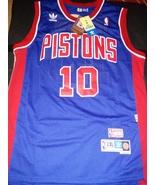 Dennis Rodman Retro Detroit Pistons Jersey Hardwood Classic New With Tag... - $22.95