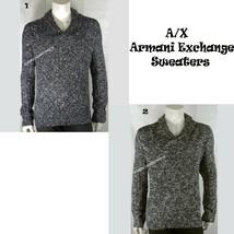 A|X ARMANI EXCHANGE NEW MENS SHAWL PULLOVER SWEATER LONG SLEEVE NWT RETA... - $45.95