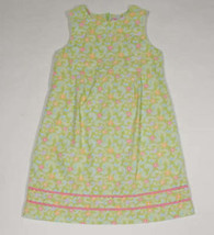 GYMBOREE GIRLS SIZE 9 DRESS NEW PALM SPRINGS GREEN PAISLEY FLORAL - $18.50