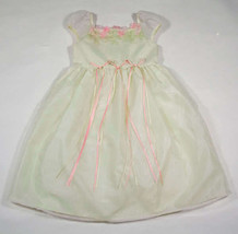 JENNY ANNIE DOTS GIRLS SIZE 6 DRESS NWT SPECIAL OCCASION PORTRAIT EASTER... - $18.50