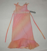 Jayne Copeland Girls Size 14 Dress Nwt Boutique Peach & Rose Easter Spring New - $21.03