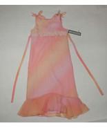 JAYNE COPELAND GIRLS SIZE 14 DRESS NWT BOUTIQUE PEACH & ROSE EASTER SPRI... - $21.03