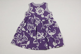 BABY GAP GIRLS SIZE 12M 18M DRESS FLORAL FLOWERS SPRING SUMMER - $14.30