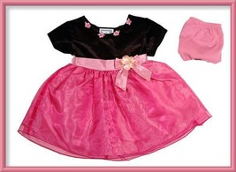 STONE GEAR BABY GIRLS SIZE 18M DRESS NEW SHIMMERY PINK PORTRAIT HOLIDAY ... - $13.45