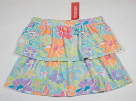 GYMBOREE GIRLS SIZE 12 SKIRT NWT PALM SPRINGS TROPICAL FLORAL FLOWERS NEW - $16.82
