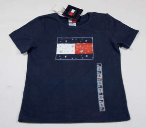 Primary image for TOMMY HILFIGER NWT BOYS SIZE 5 SHIRT PATRIOTIC FLAG STARS FOURTH JULY TOP NEW