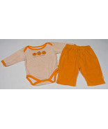BABY GEAR GIRLS SIZE 3-6M 1ST FIRST HALLOWEEN OUTFIT BODYSUIT & PANTS SE... - $6.72